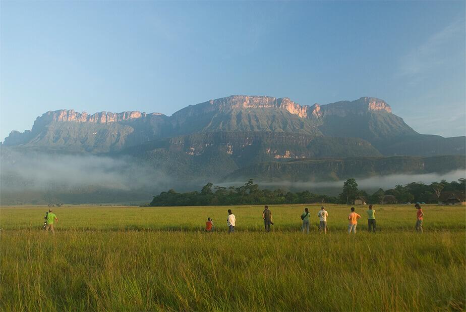 カナイマ国立公園 ロライマ山