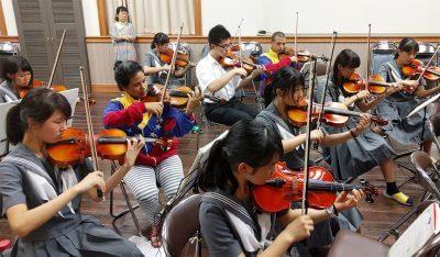 ベネズエラ発祥の教育システム「エル・システマ」所属のフランシスコ・デ・ミランダ交響楽団より、弦楽四重奏が熊本を訪問の写真