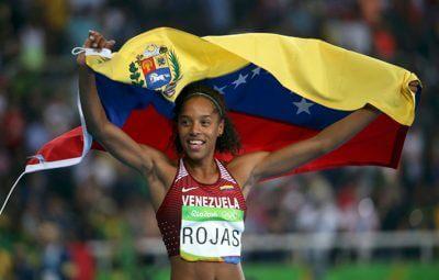 リオ五輪で初メダル ベネズエラが三段跳びで銀獲得の写真
