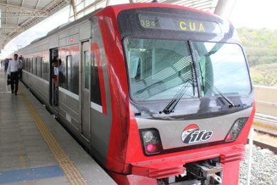 エセキエル・サモーラ鉄道10周年 日本との二国間協力により建設の写真
