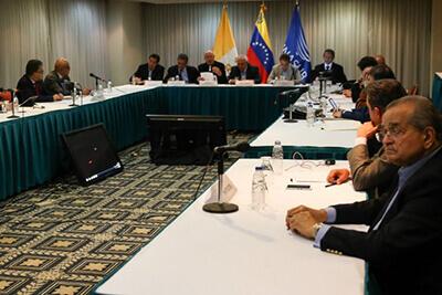 ベネズエラにおける国民的対話の写真