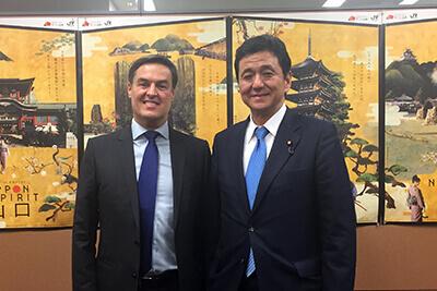 フェリックス・プラセンシア外務副大臣の訪日の写真