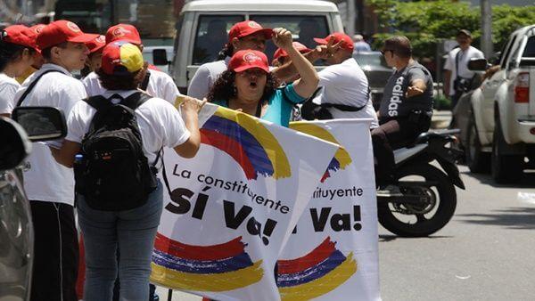 ベネズエラ制憲議会にまつわる作り話の写真