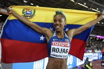 ベネズエラが世界陸上ロンドン2017で最初の金メダルを獲得の写真