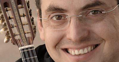マンドリン奏者リカルド・サンドバル インタビューの写真