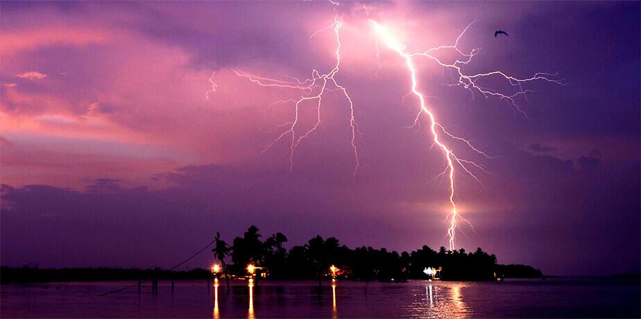 カタトゥンボ川流域の稲妻