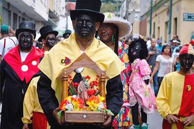 ミランダ州の聖ペドロの祭り