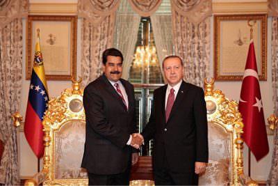 マドゥーロ大統領がトルコを訪問の写真