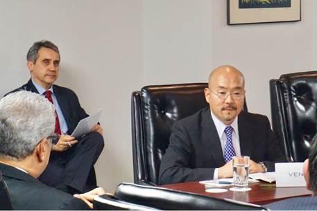 ラテンアメリカの大使らが河野太郎外務大臣と会見 | ベネズエラ