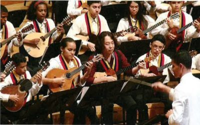"""『""""音の道""""日本とベネズエラをつなぐ エル・システマのオーケストラと合同演奏』月刊BOSS掲載の写真"""